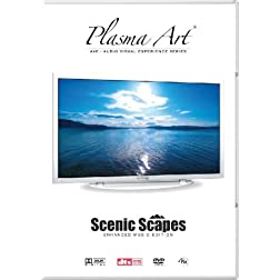 Plasma Art Scenic Scapes