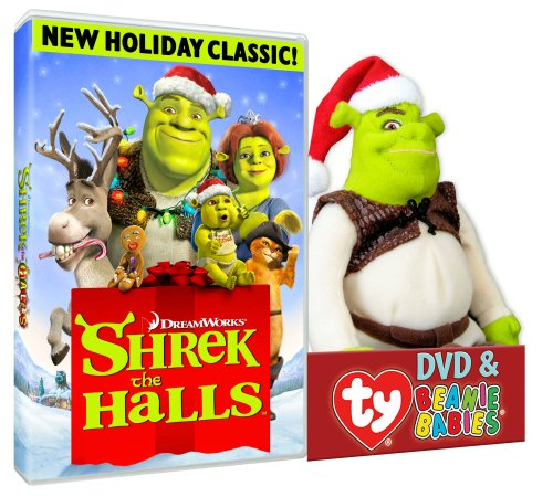 Shrek The Halls (Shrek TY Plush)