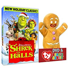 Shrek The Halls (Gingy TY Plush)