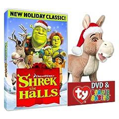 Shrek The Halls (Donkey Plush)