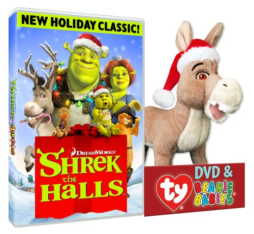 Shrek The Halls (Donkey Plush)