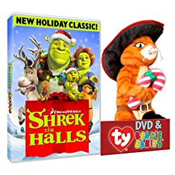 Shrek The Halls (Puss TY Plush)