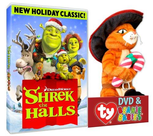 Shrek The Halls (Puss TY Plush)