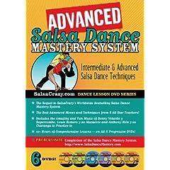 SalsaCrazy's Advanced Salsa Dance Mastery System (6 DVD Set)