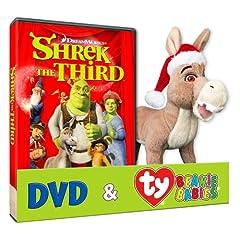 Shrek The Third (Donkey TY Plush)