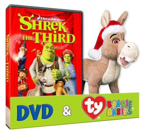Shrek The Third (Donkey TY Plush)
