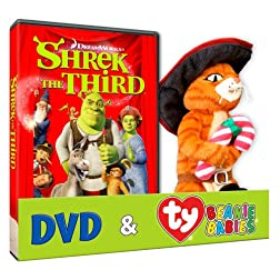 Shrek The Third (Puss TY Plush)