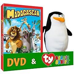 Madagascar (Penguin TY Plush)
