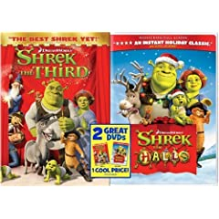 Shrek the Halls/Shrek the Third (Full Screen Edition)