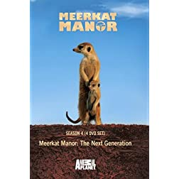 Meerkat Manor: The Next Generation Season 4 (4 DVD Set)