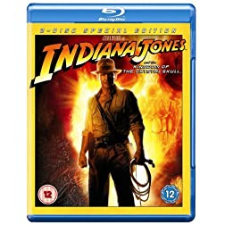 Indiana Jones & the Kingdom of the Crystal Skull [Blu-ray]