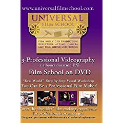 3-Professional Videography-Film School on DVD(PAL)