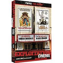 EXPLOITATION CINEMA: Chinese Hercules / Black Dragon