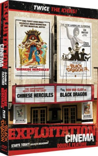 EXPLOITATION CINEMA: Chinese Hercules / Black Dragon