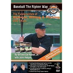 Baseball the Ripken Way DVD 3-Pack