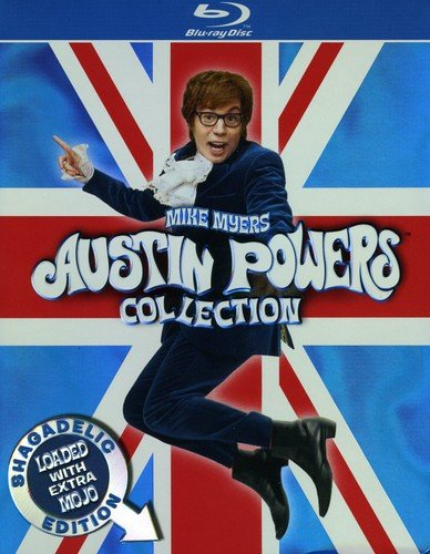Austin Powers Collection: Shagadelic Edition Loaded With Extra Mojo (BD) [Blu-ray]