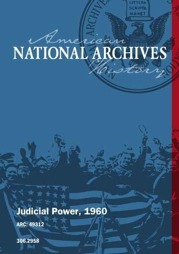 Judicial Power, 1960