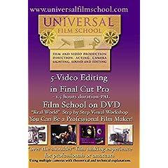 5-Video Editing in Final Cut Pro-Film School on DVD(PAL)
