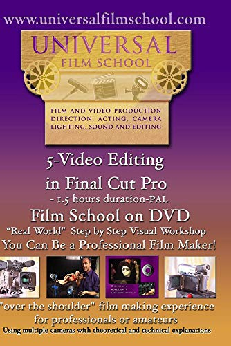 5-Video Editing in Final Cut Pro-Film School on DVD(PAL)