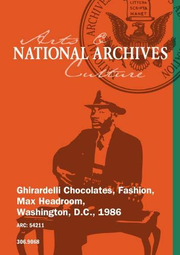 Ghirardelli Chocolates, Fashion, Max Headroom, Washington, D.C., 1986