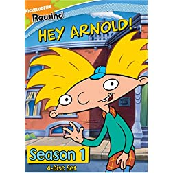Hey Arnold- Season 1 (4 Disc Set)
