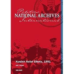 Kurdish Relief Efforts, 1991