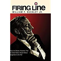 Firing Line Debate: Resolved: That the United States Should Refuse Recognition to the PLO 2 Disc Set