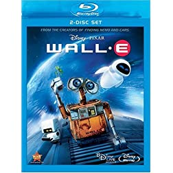 Wall-E (Two-Disc and BD Live) [Blu-ray]