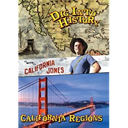 Dig Into History with California Jones: California Regions