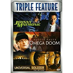 Omega Doom/Johnny Mnemonic/Universal Soldier: The Return