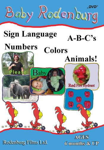 Baby Rodenburg - Sign Language, Alphabet, Number, Colors, and Animals DVD