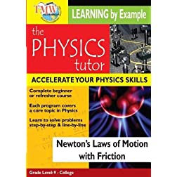 Newton's Laws of Motion with Friction