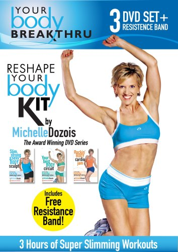 Michelle Dozois: Your Body Breakthru 3-pack (* Includes Resistance Band!)