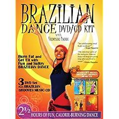 Brazilian Dance DVD/CD KIT with Vanessa Isaac