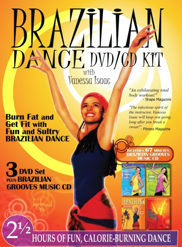 Brazilian Dance DVD/CD KIT with Vanessa Isaac
