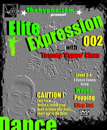 Learn Popping Dance Combo -Elite Expression 002