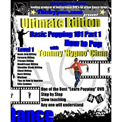 Learn Basic Popping Dance 101 Part 1 - How to Pop - Ultimate Edition