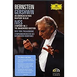 Gershwin: An American in Paris; Ives: Symphony No. 2