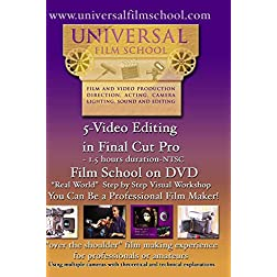 5-Video Editing in Final Cut Pro-Film School on DVD(NTSC)