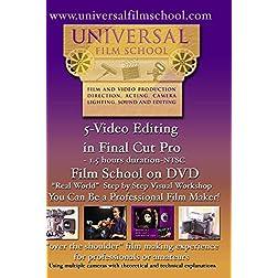5-Video Editing in Final Cut Pro-Film School on DVD(NTSC)