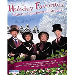 Holiday Favorites with the Wonderland Carolers [Blu-ray]