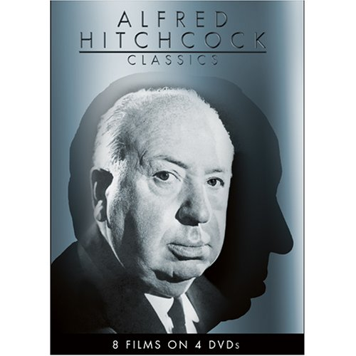 Alfred Hitchcock Classics 4-DVD Pack