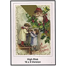 High Risk:16x9 Widescreen TV: Greeting Card: Merry Christmas