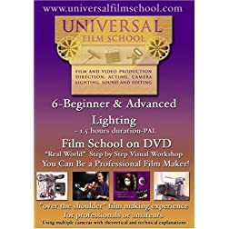 6-Beginner & Advanced Film Lighting-Film School on DVD(PAL)