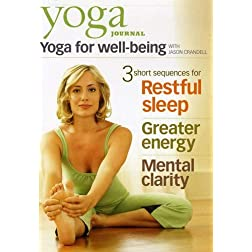 Yoga Journal: Yoga for Well-Being with Jason Crandell