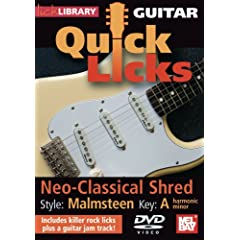 Guitar Quick Licks - Malmsteen Neo-Classical Shred Key A harmonic minor