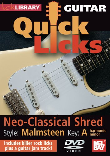 Guitar Quick Licks - Malmsteen Neo-Classical Shred Key A harmonic minor