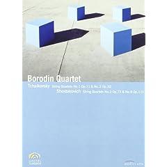 Borodin Quartet: Tchaikovsky String Quartets No. 1; Shostakovich String Quartets No. 3