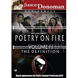 Poetry on Fire, Vol. II: The Definition