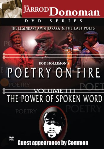 Poetry on Fire, Vol. III: The Power of Spoken Word